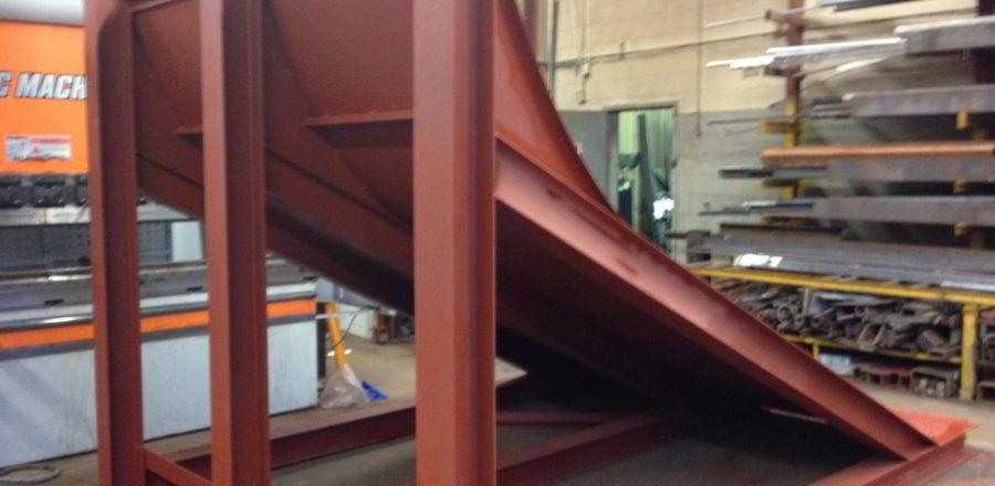 Lumber Mill Shute