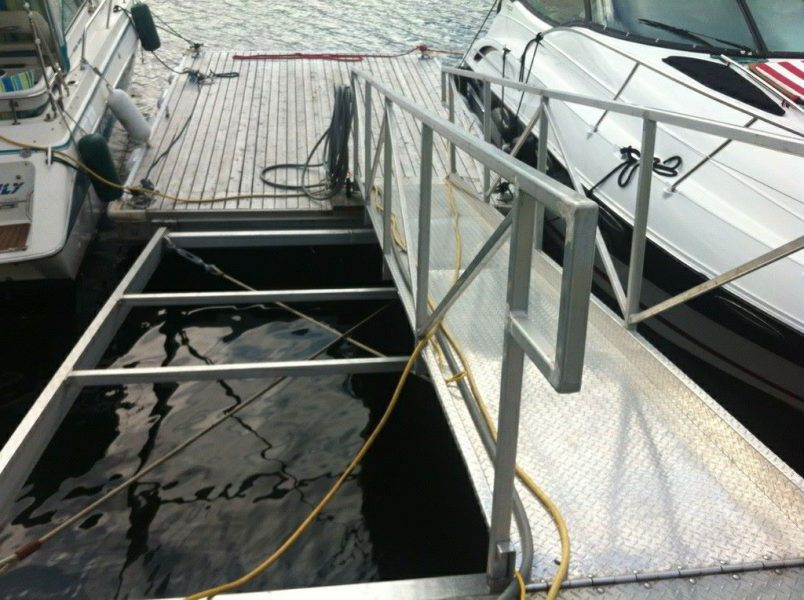 Custom Aluminum Dock